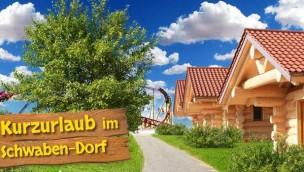 """Schwaben-Park feiert Fertigstellung des eigenen Feriendorfes """"Schwaben-Dorf"""""""