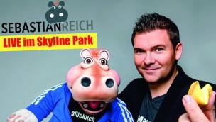 Sebastian Reich beim Familien-Festival 2017 im Skyline Park