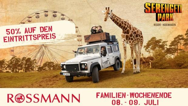 Serengeti-Park Rossmann Aktion Gutschein 2017