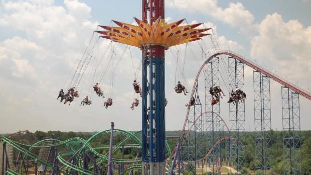 Six Flags America Wonder Woman: Lasso of Truth