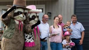 """""""Raccoon Village"""" in Slagharen eröffnet: Freizeitpark erweitert Übernachtungsangebot"""