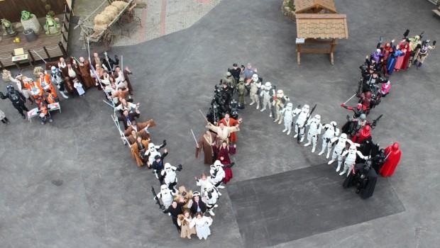 Star Wars Event Kernie's Familienpark Luftaufnahme
