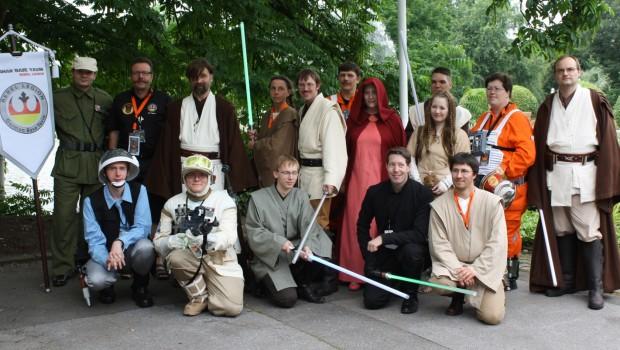 Sternhelden Kernie's Familienpark Gruppenfoto