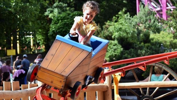 Tier- und Freizeitpark Thüle Achterbahn für Kinder