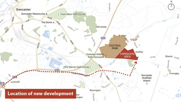 Yorkshire Wildlife Park Expansion