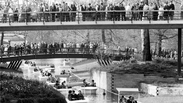 Zoo Karlsruhe Gondolettas Bundesgartenschau 1967