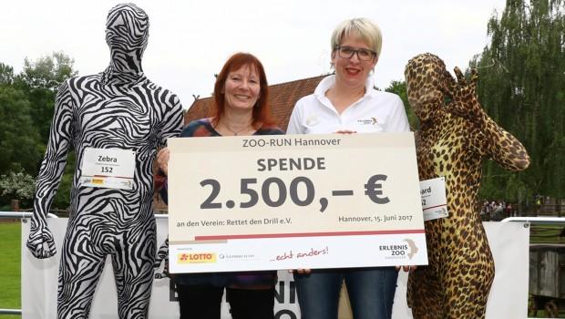 ZOO RUN Hannover 2017 - Spende