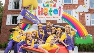 Alton Towers Cbeebies Land Hotel