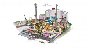 Attractiepark Rotterdam entsteht auf ehemaligem Industriegelände: Eröffnung für 2018 angesetzt