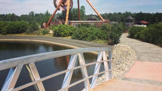 BELANTIS Rundweg Brücke
