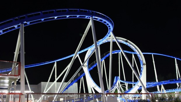 Big Blue Silverarrow Achterbahn Mirnovec FunPark