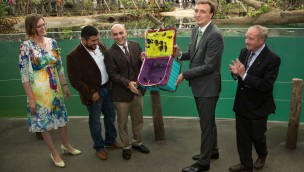 Burgers' Zoo Mangrove eröffnet: Öko-Display auf 3.000 Quadratmetern