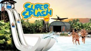 Caneva Aquapark Flug-Mattenrutsche Super Splash