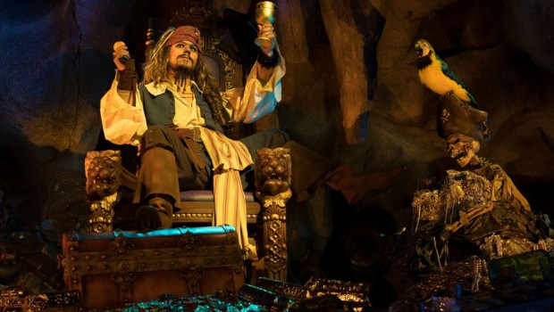 Captain Jack Sparrow Disneyland Pris Pirates of the Caribbean