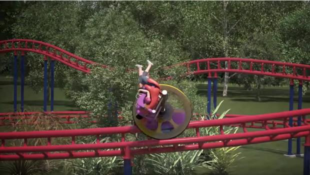 Chance Rides Achterbahn-Konzept Unicoaster