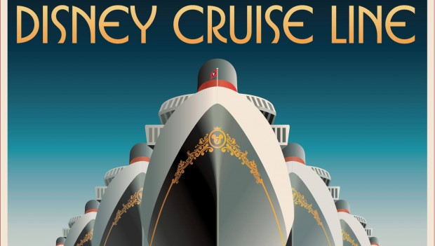 Disney Cruise Line Artwork