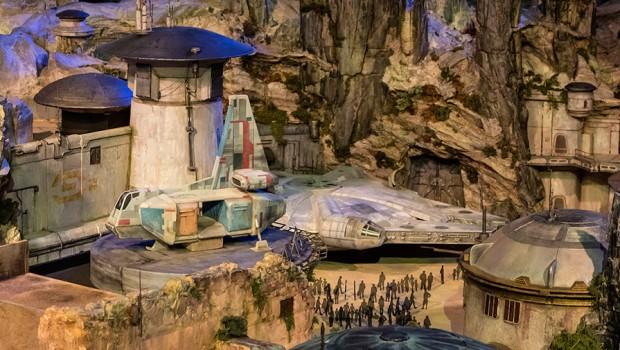 Disney Parks Star Wars-Land Modell