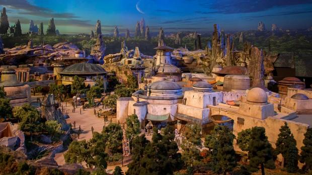 Disney Parks Star Wars-Land Modell