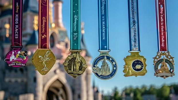 Disneyland Paris Magic Run 2017 Medaillen