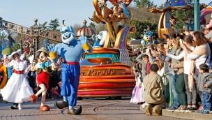 Disneyland Paris Parade Dschinni