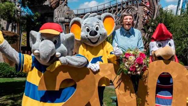 Dorothea Spohler-Claussen Europa-Park Maskottchen 2017
