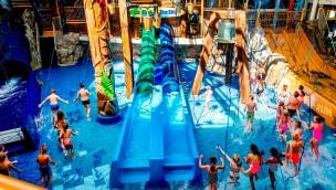 """Duinrell eröffnet """"Playa""""-Bereich in Wasserpark Tikibad mit vier neuen Rutschen"""