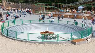 Eifelpark Seeräubers Kanonenritt