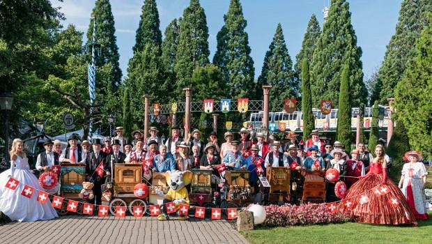 Europa-Park Schweizer Fest Gruppenfoto 2017