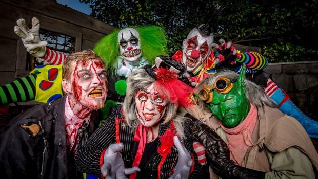 Filmpark Babelsberg Horrornächte Monstercollage