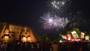 Gardaland Ramses Feuerwerk