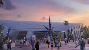 Guardians of the Galaxy Epcot Outdoor Artwork