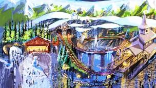 """Holiday Park baut """"Holiday Indoor"""": Überdachter Themenpark mit neuer Achterbahn zur Eröffnung 2018"""
