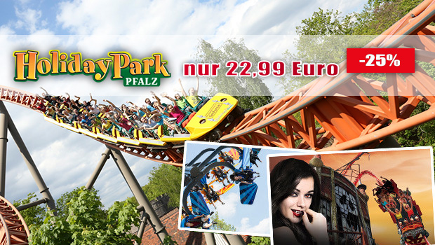 Günstige Holiday Park-Tickets 2017 mit Gutschein im Sommer