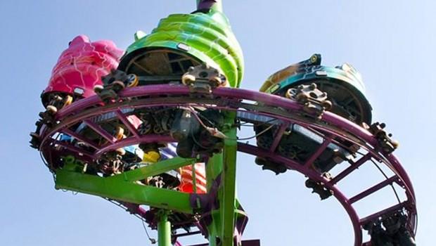 Jamming Europark Milano Spinning Coaster