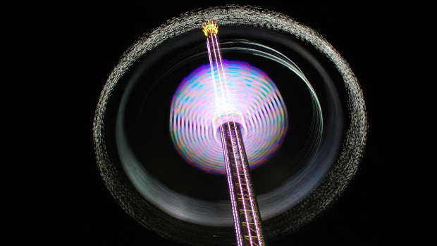 """""""Jules Verne Tower"""" von Goetzke (Kirmes)"""