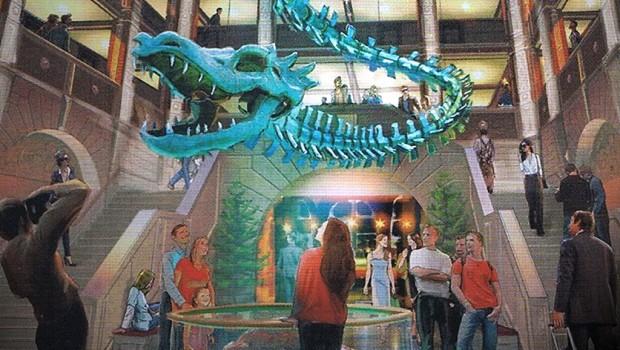Kronasar Rulantica Hotel Lobby Artwork