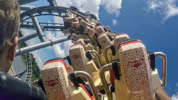 Legendia lech Coaster OnRide BackRow