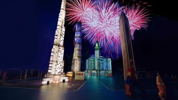 LEGOLAND Deutschland Miniland Feuerwerk