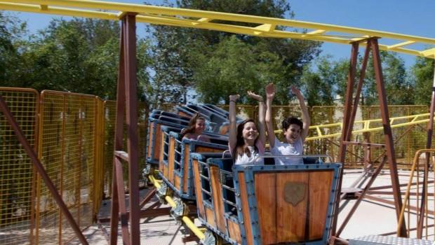 Mine train Coaster Mirnovec Park