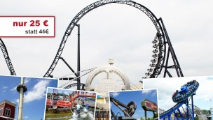 Movie Park Germany Tickets 2017 günstig Sommer