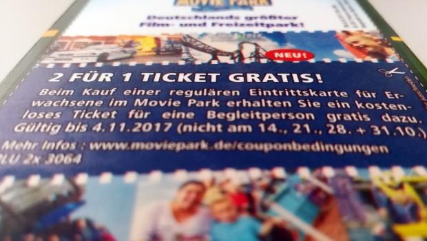Movie Park Gutschein Albi 2-für-1-Ticket