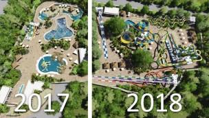 Walibi Sud-Ouest zum 25. Jubiläum neu mit Wasserpark: Parc Aquatique Walibi eröffnet am 31. Juli 2017