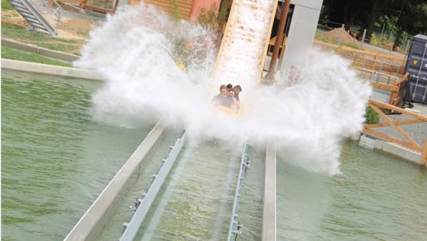 Parc du Bocasse Wildwasserbahn Splash-o-Saure