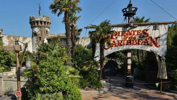 Pirates of the Caribbean Disneyland Paris Eingang