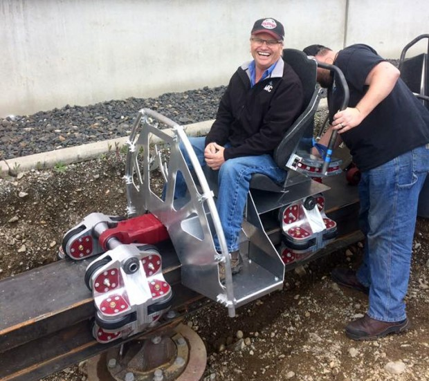Rocky Mountain Construction Fred Grubb Raptor Track Testzug