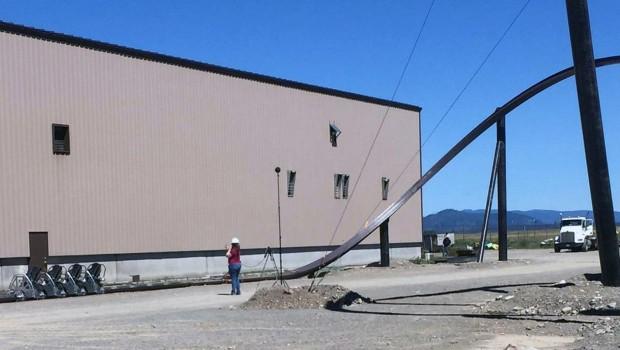 Rocky Mountain Construction Monorail Achterbahn Testfahrt