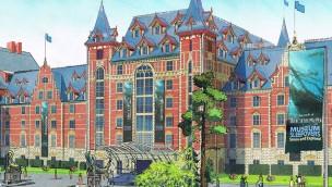 """Schlafen im Entdecker-Ambiente: Hotel """"Krønasår"""" am Europa-Park-Wasserpark wird wie ein Museum gestaltet"""