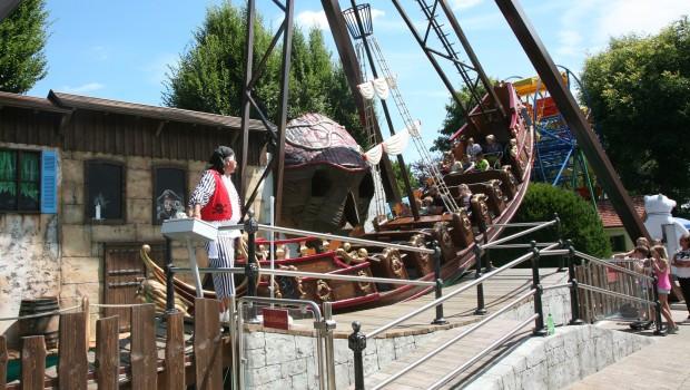 Santa Lore im Schwaben-Park - Taufe