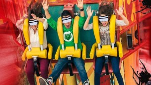 Six Flags Mexiko Freifallturm Virtual Reality Caida al Abismo