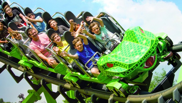 SpeedSnake FREE Bügel - SunKid Coaster Train SCT1200 FORT FUN Abenteuerland